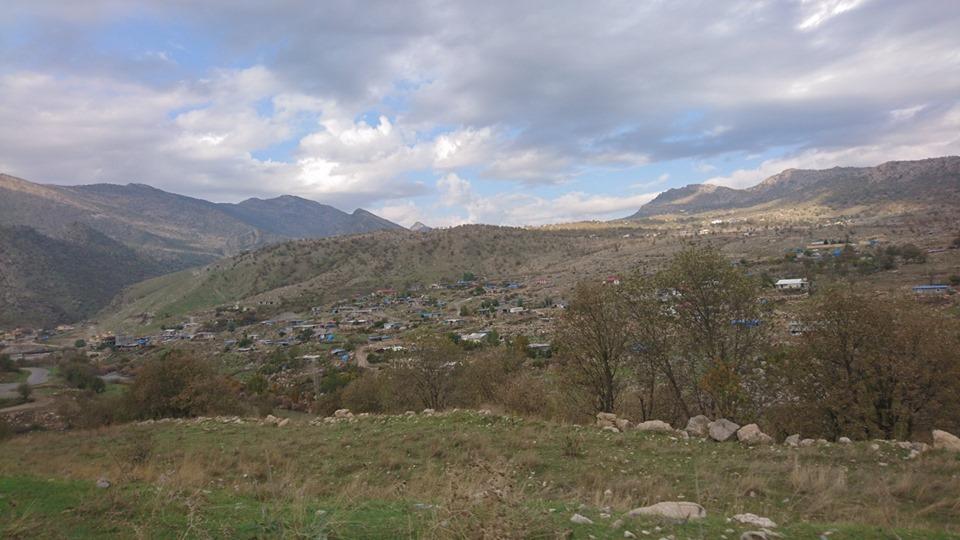 Op de foto: de stad Sherwan Mazn